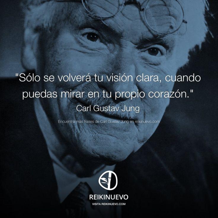 Visión clara (Carl Gustav Jung) http://reikinuevo.com/vision-clara-carl-gustav-jung/