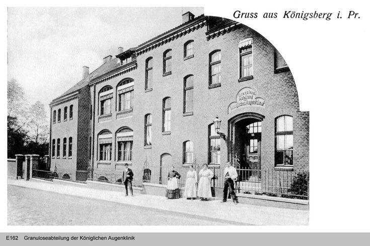 Königsberg, Granuloseabteilung der Königlichen Augenklinik