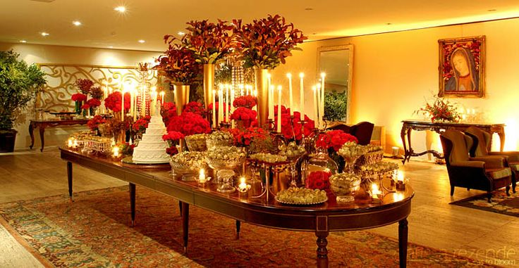 Christmas Wedding Reception Ideas