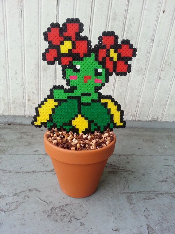 Bellossom Potted Plant Waterless Plant by BurritoPrincess on Etsy
