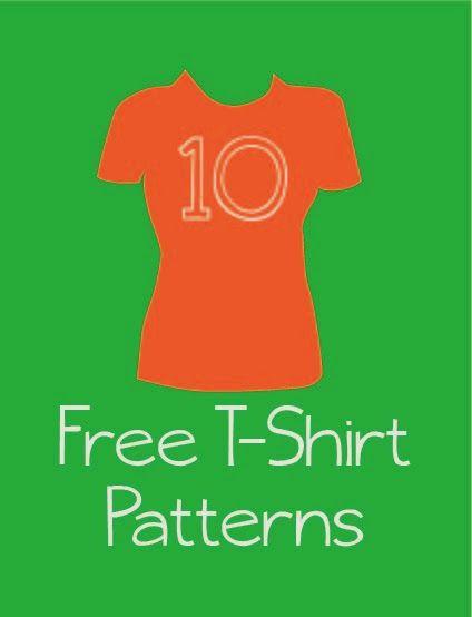 I Sew, You Sew: Free T-Shirt Patterns
