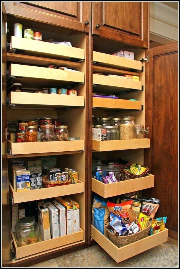Pantry Cabinet Organizer Organization Ideas Door