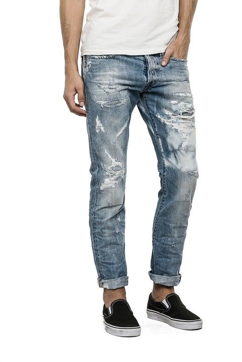 Jeans Man Regular Slim Fit - Replay Maestro Selection WAITOM 118 507 - Replay