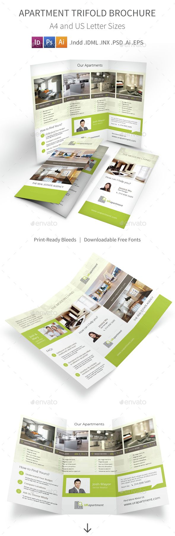 Apartment Brochure Design Classy Design Ideas