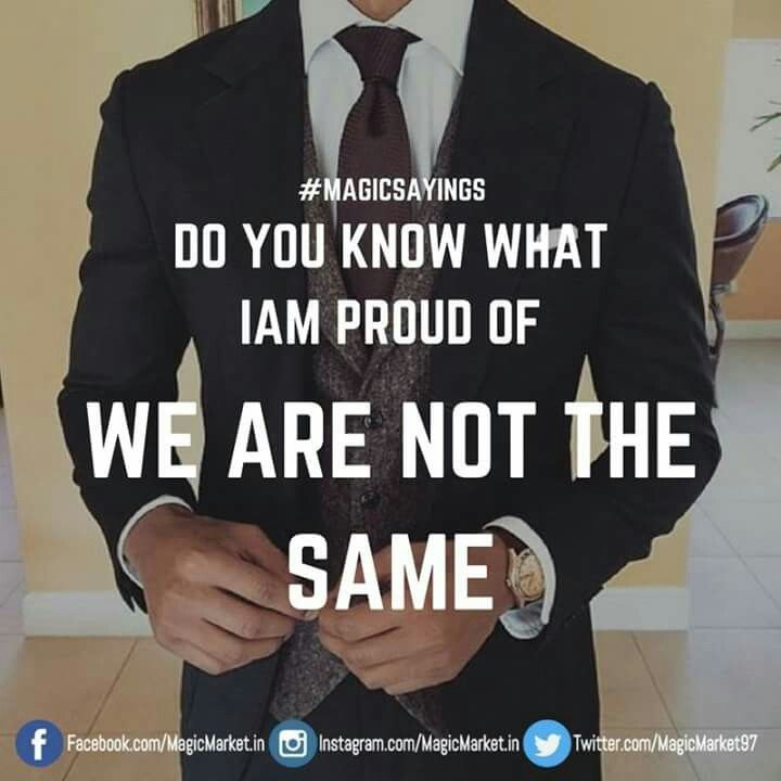 True that, we are not the same! #MagicSayings Like : http://buff.ly/2oiWBNe #Motivation #Inspiration #QuotesForLife #QuotesToLiveBy #Monday
