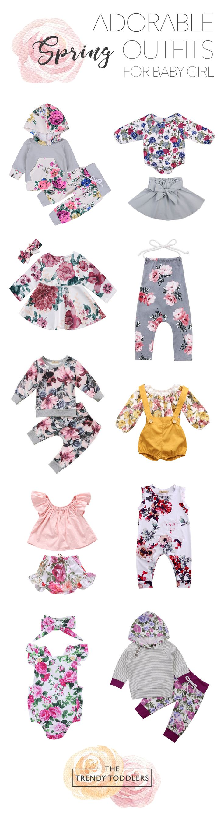 UP TO 70% OFF + FREE SHIPPING! Shop our entire collection of cute baby & toddler girl spring outfits at thetrendytoddlers.com.
