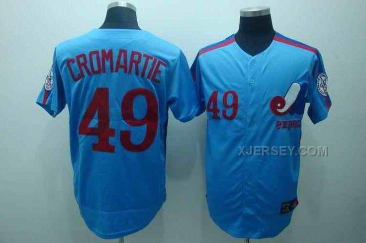 http://www.xjersey.com/expos-49-cromartie-blue-jerseys.html Only$34.00 EXPOS 49 CROMARTIE BLUE JERSEYS Free Shipping!