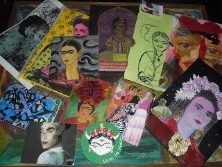 Fridetta: Viva la Vida!!! Viva Fridetta mailArt & Artworks