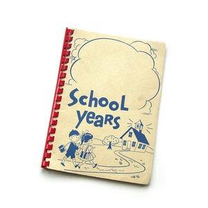 School Years – vintage journal.