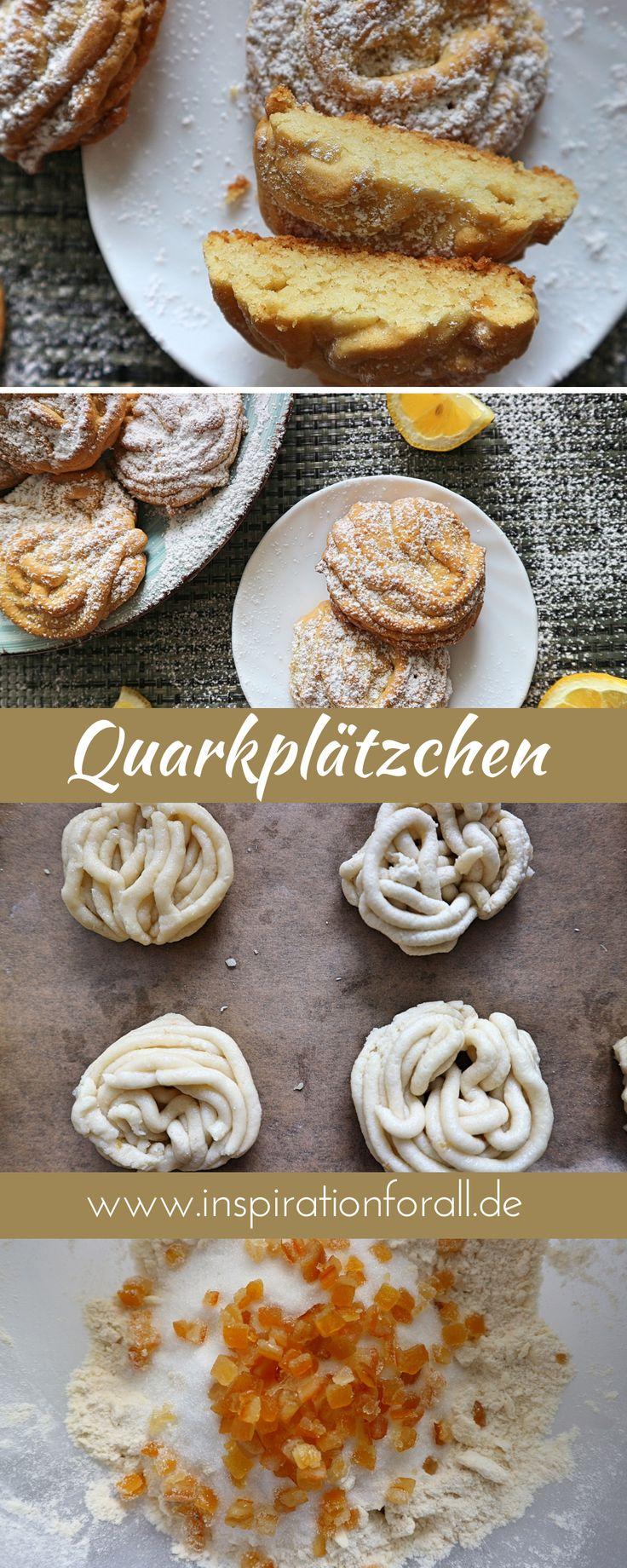 Spritzgebäck mit Quark & Orangeat mit Fleischwolf geformt – Rezept