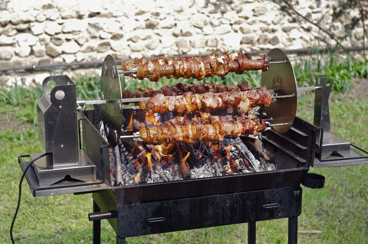 How To Build A Rotisserie Grill Bbq Pits Bbq