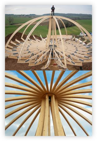 Constructing a Dome House
