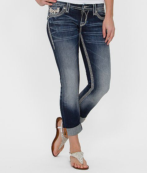 Rock Revival Avery Cropped Stretch Jean .... I so need these