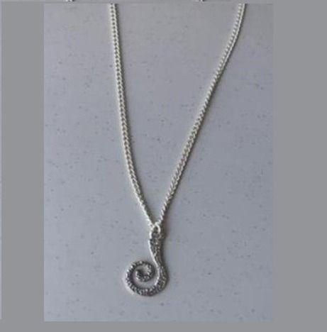 Chaîne argentée associée au pendentif interchangeable KIT-LUDI : Chaines par ludifimo