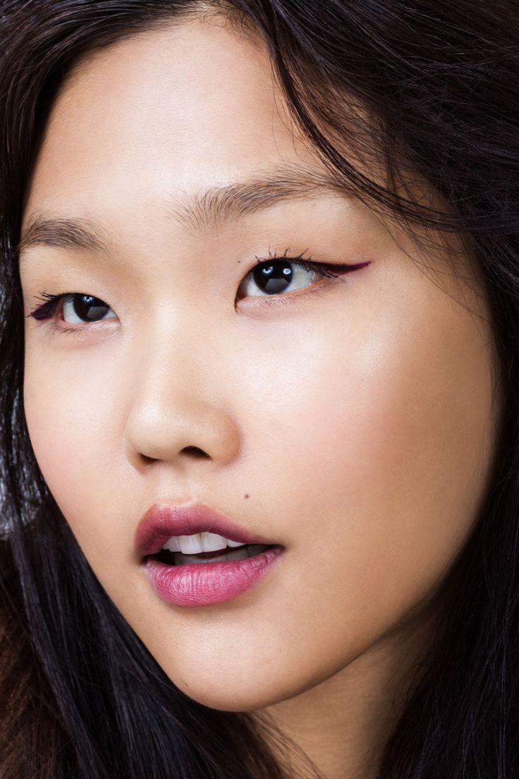 Макияж для монголоидного типа глаз фото