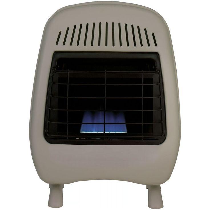 procom 10k btu vent free blue flame space heater gas thermastat procom - Propane Space Heater