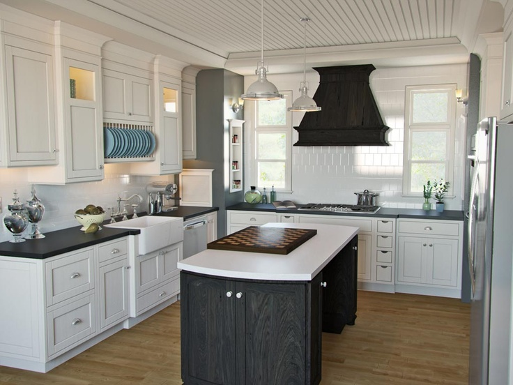 Boston Sink Cottages Kitchen