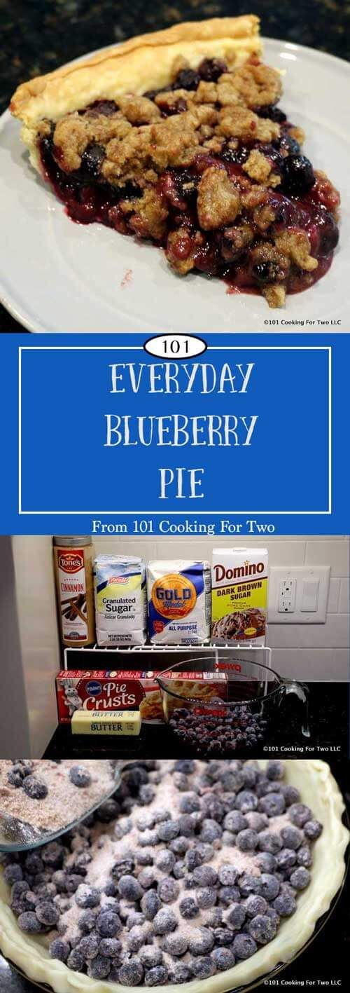 This simple blueberry crumb pie will move pie from an occasional treat to an everyday family desert. The crispy crumble topping combines with the sweet and juicy berry pie filling for a great treat. via @drdan101cft