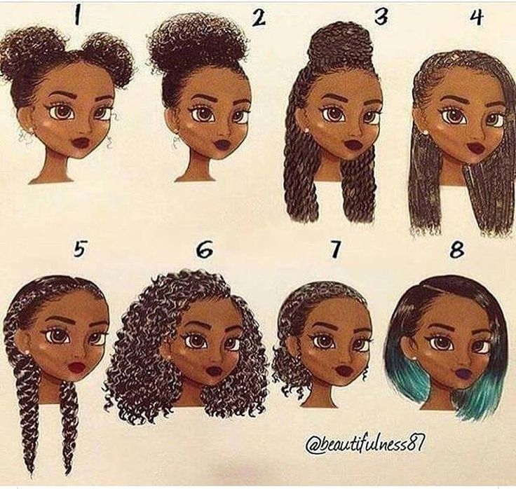 black girl cartoon