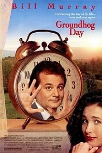 #groundhog day a wonderful movie that if you have seen in a while you should definitely click the link above and pop on over to watch.
