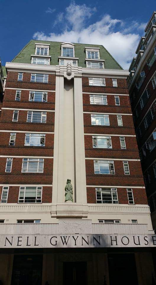 Vera Atkins lived in an apartment in Nell Gwynn House, London, during WW2.