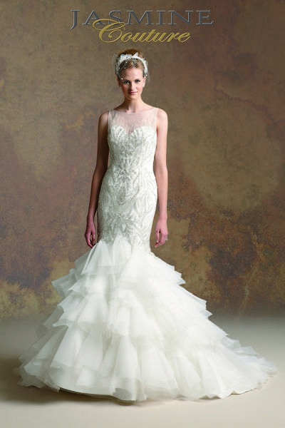 17 best images about plus size bridal dresses on pinterest for Jasmine couture wedding dresses