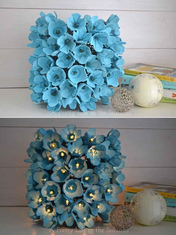Take a look at our post Easter collection of 20+ DIY Egg Carton Crafts That Will Leave You Speechless and enjoy in the making of your own egg carton project.