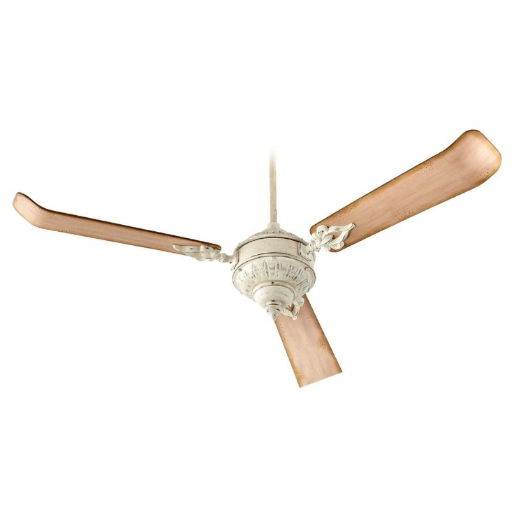 ceiling fan without light. quorum lighting brewster persian white ceiling fan without light
