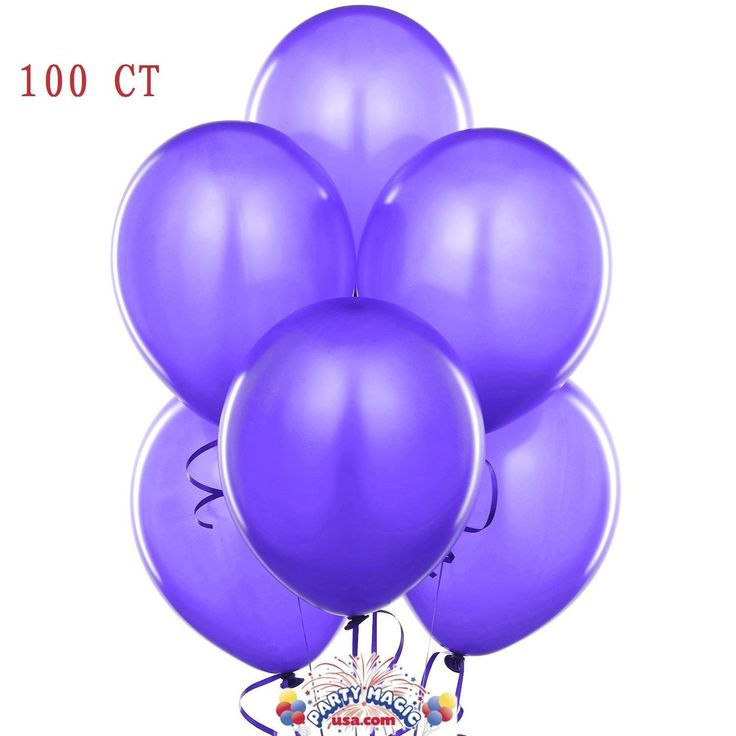 100 Palloncini viola euro 12,88