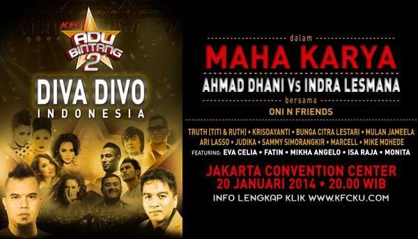 Maha Karya Ahmad Dhani & Indra Lesmana