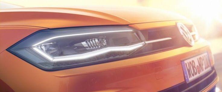 Glimpse of new 2017 Volkswagen Polo