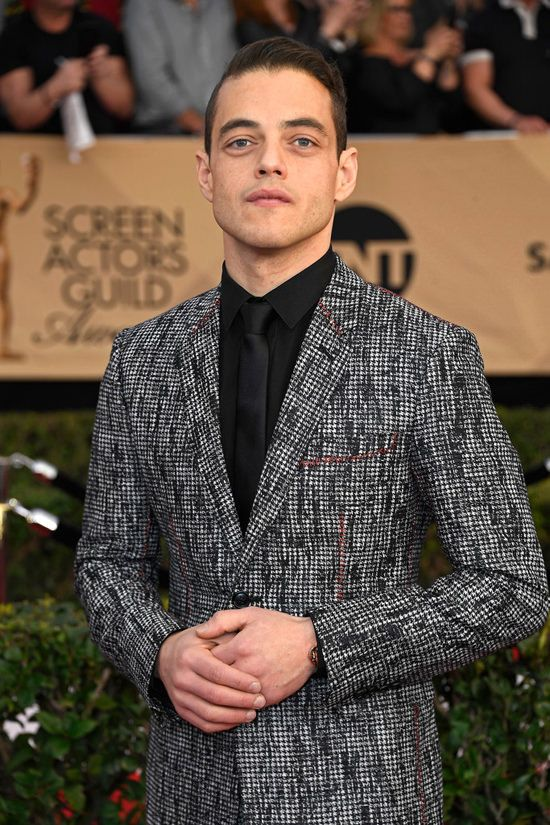 Rami Malek is Once Again Your Boo in Dior Homme at the 2017 SAG Awards   Tom + Lorenzo