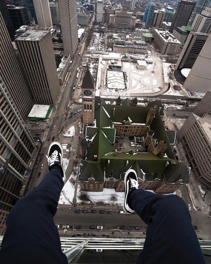 Up above Toronto.