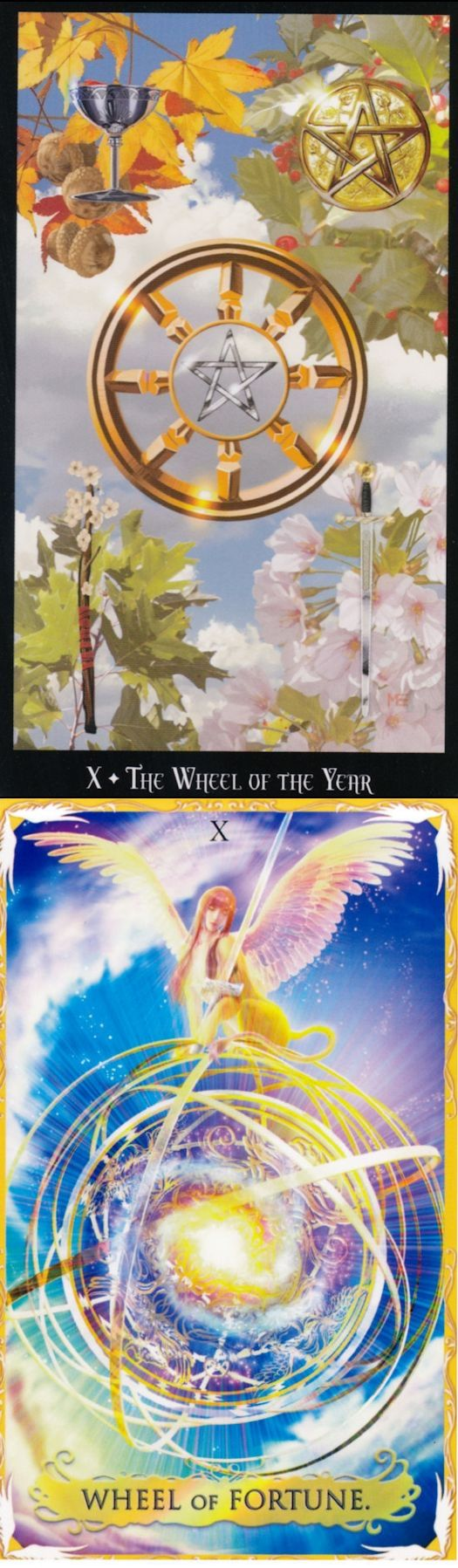WHEEL OF FORTUNE: cycles and helplessness (reverse). Witches Tarot deck and Alchemia Tarot deck: lotus tarot free reading online, tarot card yes or no and three tarot card reading. Best 2018 predictions of the future and tarot cards art. #paganism #wicca #thesun #iosapplication