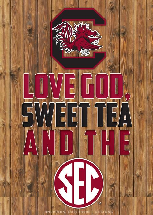 South Carolina Gamecocks!