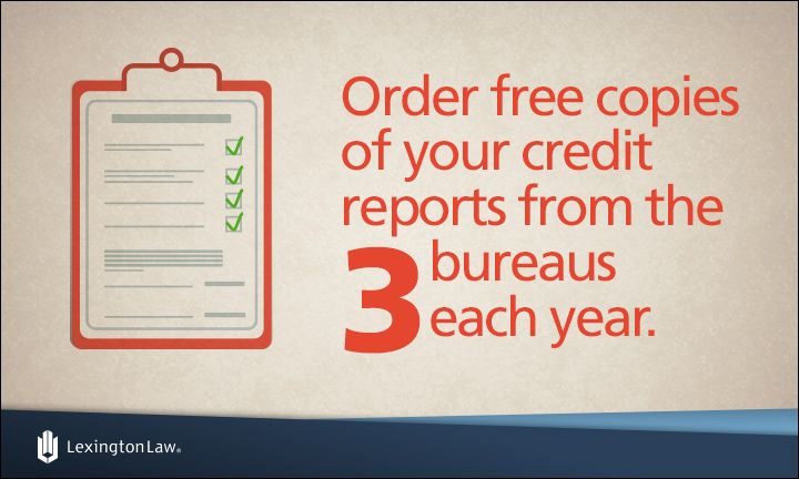 Credit-Tip-Tuesday! Order free copies of your reports from the three credit bureaus (Equifax, TransUnion and Experian) each year. AnnualCreditReport.com is a free government resource that can help!