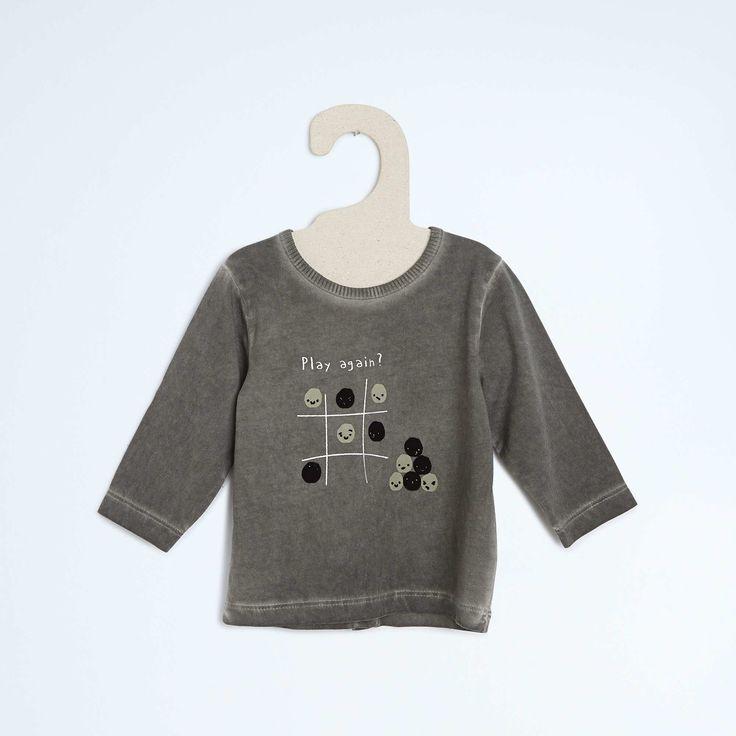 T-shirt manches longues Bébé garçon - Kiabi - 6,00€