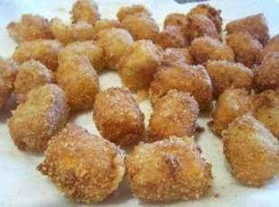 Fried Cheese Balls.  Makes me want to buy a deep fat fryer!
