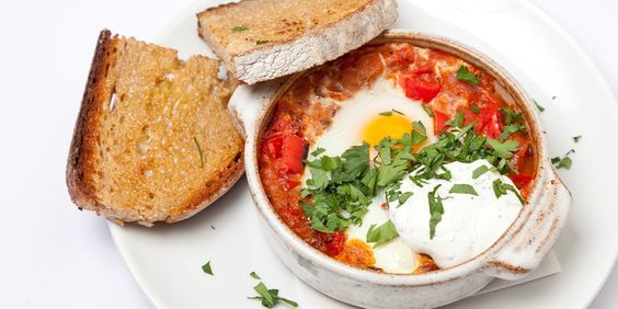 Anna Hansen's incredible Turkish menemen recipe is both comforting and exciting, pairing the classic breakfast dish with a sumac yoghurt.