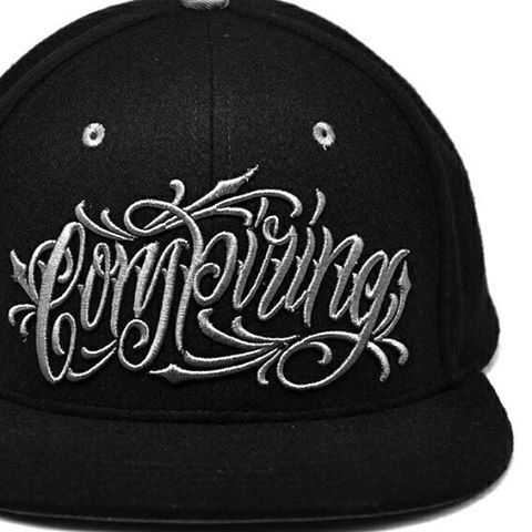 """Conspiring"" Snapbacks  USE DISCOUNT CODE - LUCKY13 - FOR A FURTHER 30% OFF YOUR FULL ORDER  www.crmc-clothing.co.uk 