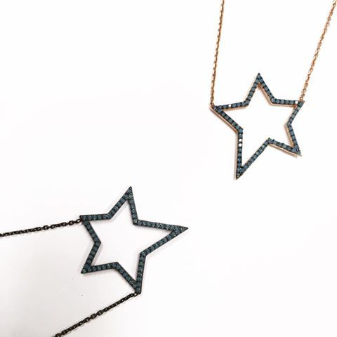 Shine bright like a  New additions from Serkos The Charm Collection! #stylebubbles #jewelry #stars #fashion #style #onlineshopping