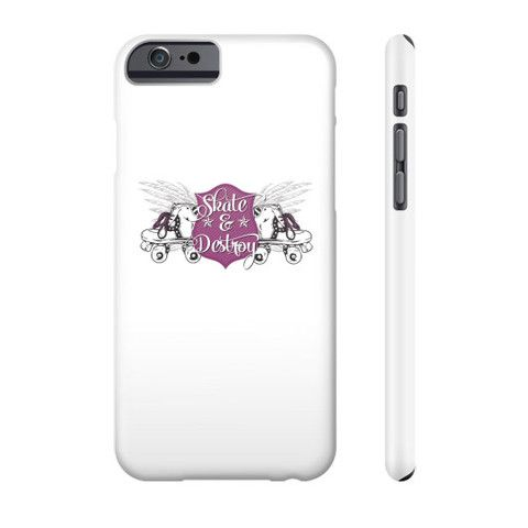 Roller Derby - Skate & Destroy! - Phone Case!