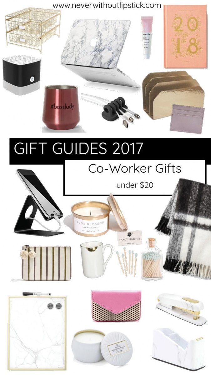 Brighten Up Your Teammates Desk Or Give Her Something To Treat Herself When Shes At Home With One Of These Co Worker Gift Ideas Under 20