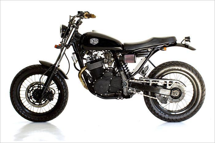 Suzuki DR650 - Deus Bali - Pipeburn - Purveyors of Classic Motorcycles, Cafe Racers & Custom motorbikes