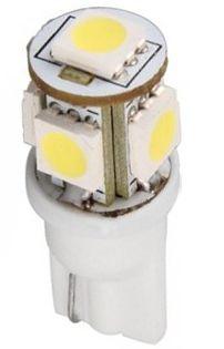 Ledlampa T10 12Volt/ W5W varmvit
