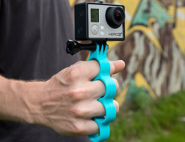 Take your experience with the GoPro HERO camera to a whole new level with GoKnuckles.