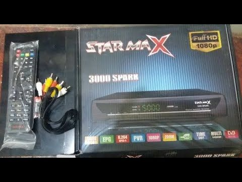 STAR MAX 3000 SPARK Hd Digital Satellite Receiver Review 2018 | star