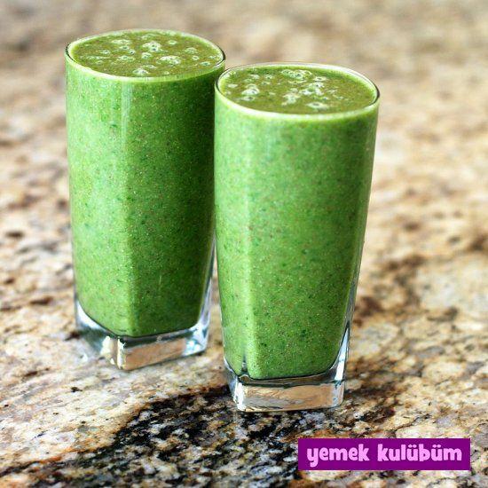 kolay pratik kivili kış smoothiesi tarifi yaplışı nasıl yapılır, farklı değişik kivili smoothie tarifleri, sağlıklı bol vitaminli kış içecekleri