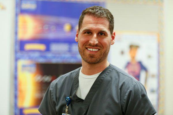 A day in the life of mental health technician Adam Bonezzi