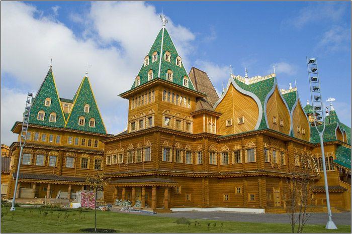 Royal Russia News: The Summer Palace of Tsar Alexis Mikhailovich at Kolomenskoye: The Eighth Wonder of the World